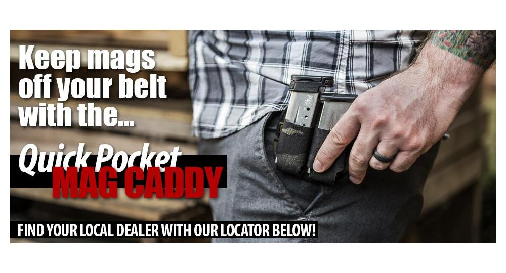 Pocket carry your mags with the Quick Pocket Mag Caddy