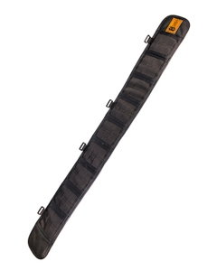 """Sure-Grip Padded Belt ®- Slotted-Small - 32"""" end to end-BK"""