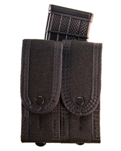 Duty Staggered Double Pistol TACO® - Covered with Rifle-BK