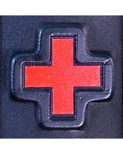 Adhesive Red Cross Decal (5 Pack)